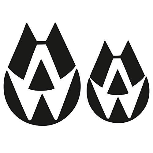 Autoaufkleber Set für Kfz Emblem...