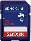 SanDisk Standard SDHC 8 GB Memory Card (Label May Change)