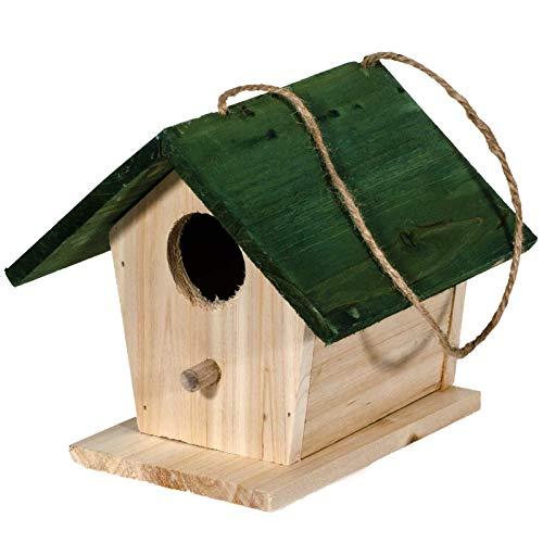 SIDCO Vogelhaus Nistkasten Vogelhäuschen Nisthöhle Nisthaus Nisthilfe Holz Meisenhaus