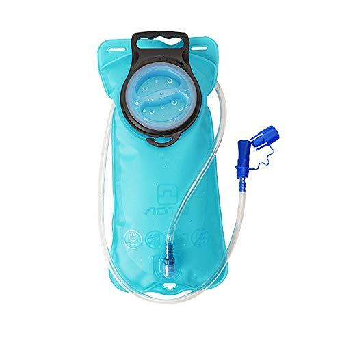 Etechydra Vejiga de hidratación, bolsa de almacenamiento ligera de 2 l, bolsa de almacenamiento, depósitos de hidratación mochila para senderismo, ciclismo, escalada, ciclismo, correr