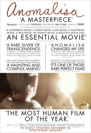 ANOMALISA – US Movie Wall Poster Print - A4 Size Plakat Größe