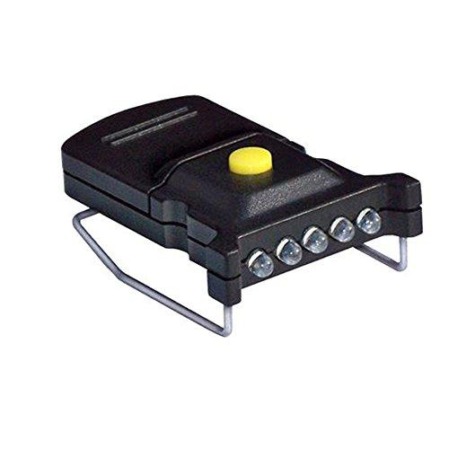 Cyclops Micro Mini LED Hat Clip Light - CYC-MHC-W,Black