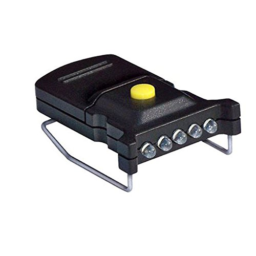 Cyclops Micro Mini LED Hat Clip Light - CYC-MHC-W,Black