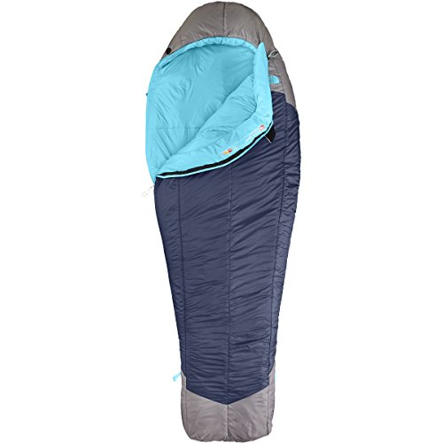 The North Face Women's Cat's Meow Sleeping Bag Blue Coral/Zinc Grey Size Regular