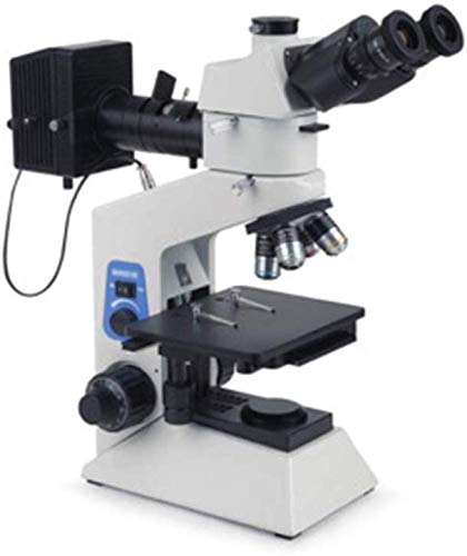 Jszzz Polarizada microscopio, 3000X transflectiva Vertical Portátil Digital Hardware metalográfico microscopio y la detección de Metales polarizada Microscopio