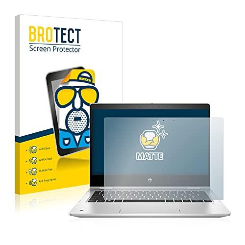 BROTECT Entspiegelungs-Schutzfolie kompatibel mit HP ProBook x360 435 G8 Bildschirmschutz-Folie Matt, Anti-Reflex, Anti-Fingerprint