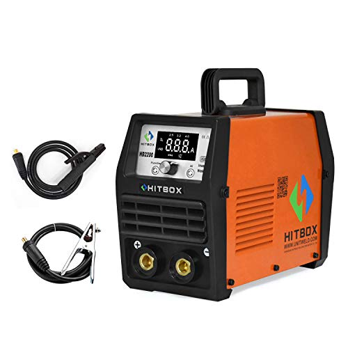 HITBOX ARC TIG 2 in 1 Combo Stick Welder HB2200 ARC 200 Amp 85% Duty Cycle Newly Updated 3.2 4.0mm 7018 Cellulose Rod Stick Welding Machine