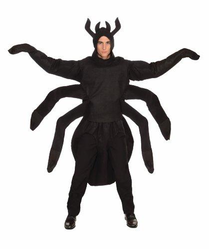 Forum Creepy Spider Costume, Black, One Size