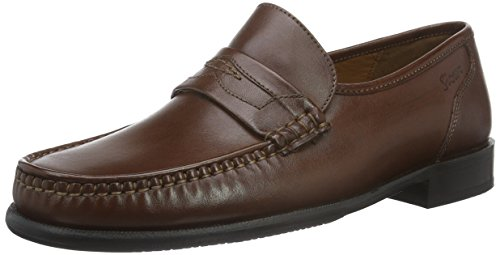 Sioux Herren Cabaco Slipper, , Braun (brandy), 41 EU ( 7.5 UK)