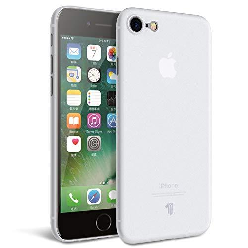 X-level Cover iPhone SE(2020), Cover iPhone 8/7, Custodia Ultra Leggera AntiGraffio in PP da 0,3 mm, Custodia Rigida Ultra-Sottile Anti-Impronta Digitale, per iPhone 8/7/SE(2020) - Bianco Satinato