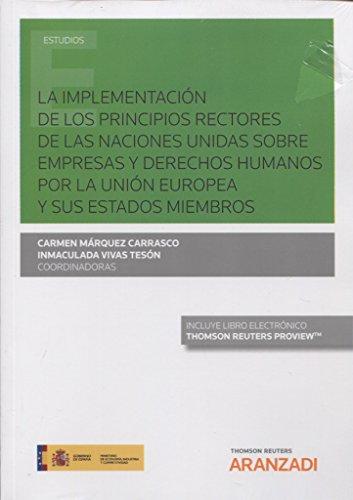 PRINCIPIOS DE DERECHO DE LA UNION EUROPEA
