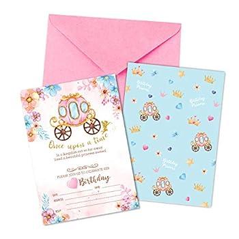 Best birthday princess invitations Reviews