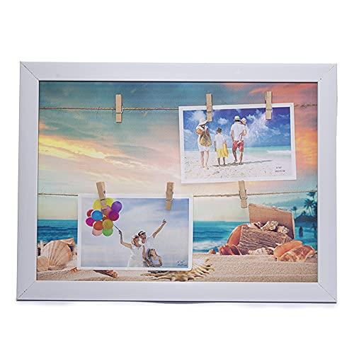 byoeko Marco para Colgar Fotos 40 x 30 cm sin Cristal Playa...