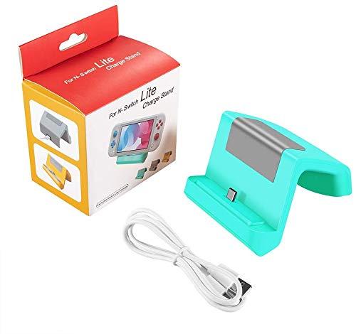 Base Dock Carregador Stand Nintendo Switch Lite - Green