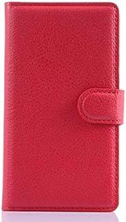جراب قابل للطي من الجلد لهاتف Lumia 520 521 525 526 N520 520T غطاء خلفي من الجلد اللهب مع حامل Etui Coque funda> (LZ RD NK...