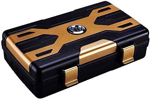NHLBD Accessoires Fumeurs, Boîte à cigares, Humidor Cigar Humidor Boîte à Cigarettes scellée Boîte décorative étanche (Couleur: A)...