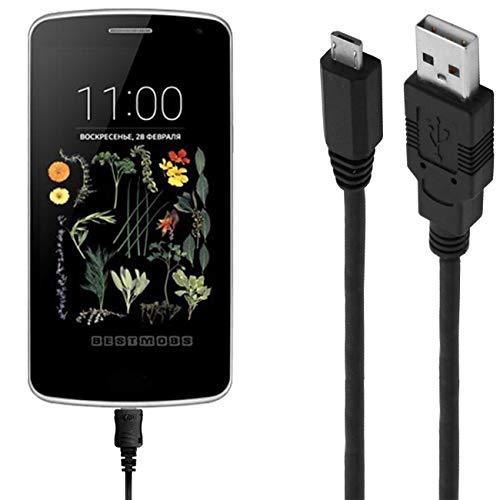 ASSMANN Ladekabel/Datenkabel kompatibel für LG K5 - schwarz - 1m