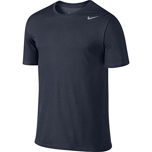 Nike Version 2.0 T-Shirt manches courtes Homme, Bleu - Obsidian/Marine, FR : M (Taille Fabricant : M)