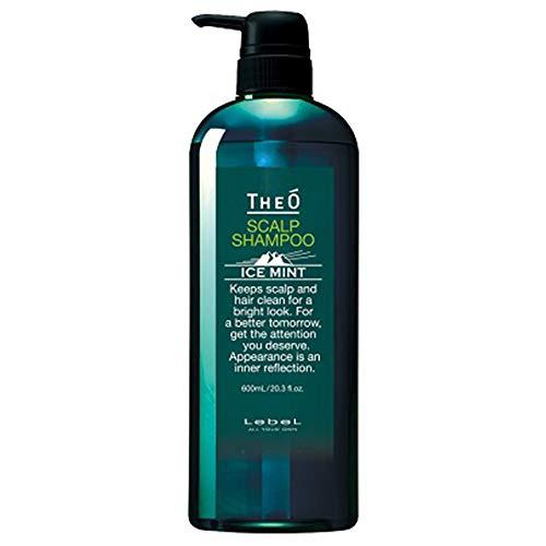 Lebel THEO Scalp Shampoo - 600ml - Ice Mint (Green Tea Set)