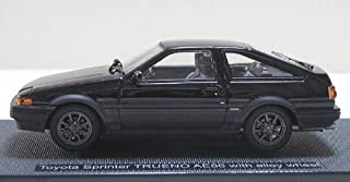 EBBRO - Toyota Sprinter TRUENO AE86 with alloy wheel (Black)