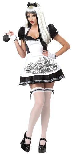 Generique - Déguisement Alice malfaisante Halloween Femme Grande Taille XXXL