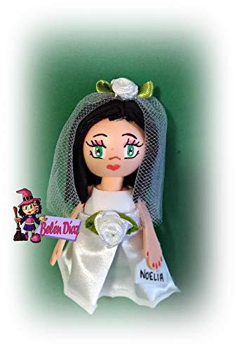 15 Broches detalles de boda o comunión 10 cms. fofuchas personalizadas