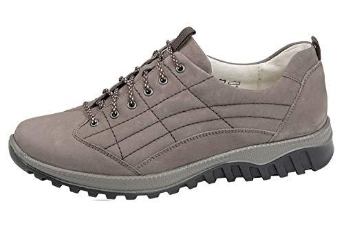 Waldläufer Damen Schnürschuhe Honora Mouse 41 EU Schuhweite H = Für den etwas kräftigeren Fuß