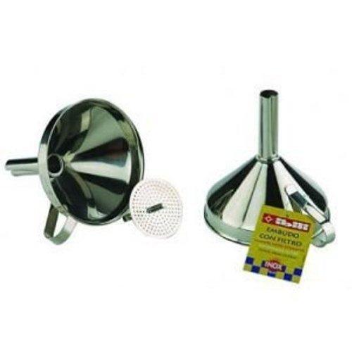 IBILI 763800 - Embudo INOX con Filtro