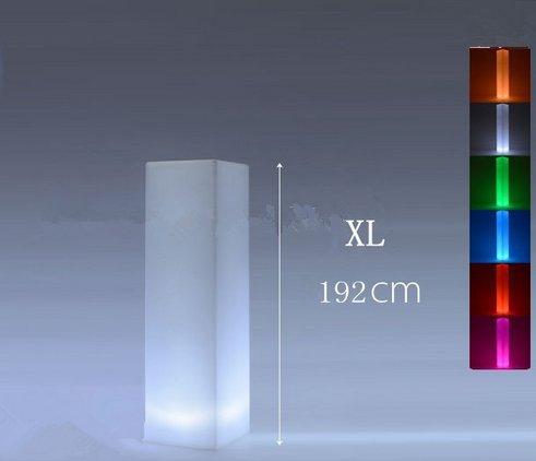 Gowe Lampe carrée à LED rechargeable pour extérieur