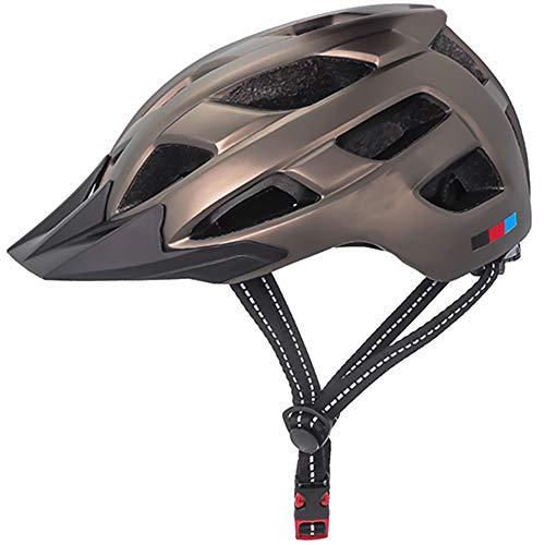 Helm ZWRY Fietshelm voor heren Ultralicht vizier Ademend Road Mountain MTB-fietshelmen