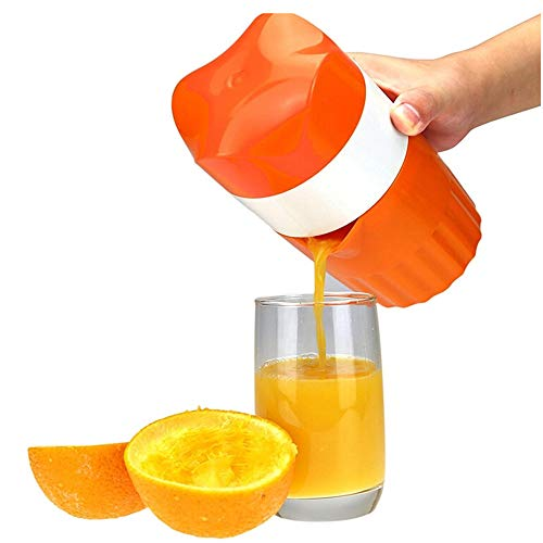 KISSFRIDAY Handbuch Entsafter Zitrusfrüchte Zitrone Orange Entsafter Handpresse Mit Filter