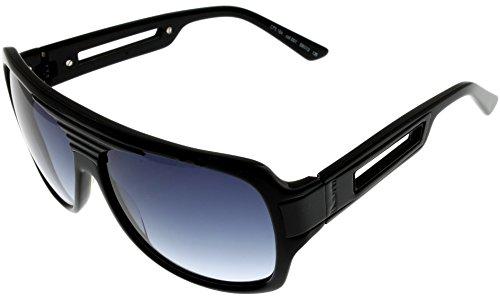 Cesare Paciotti Sunglasses Unisex CPS164 01 Black Rectangle