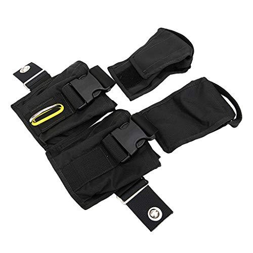 SATIC Scuba Tauchen Gewichts Tasche Blei FüLl Beutel Aufbewahrungs Taschen Compact Tech Tauch Tasche