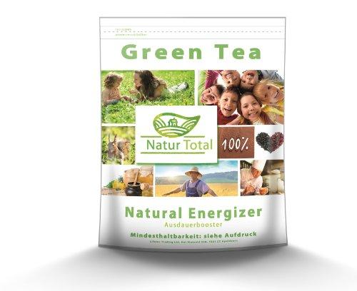 Green Tea 200 Kapseln Grüner Tee der Natural Energizer + Ausdauerbooster