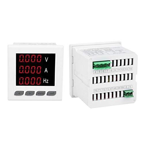 Multifunktionsmesser Voltmeter Digitalanzeige Multimeter Präzises Messgerät zur genauen Messung von Strom- und Spannungswerten