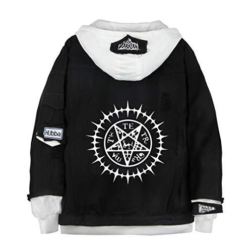 GO2COSY Anime Black Butler Denim Jacket Hoodie Cosplay Sweatshirt Fleeces Costume Pullover