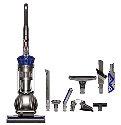 Dyson Ball (formerly DC65) Allergy Complete Upright Vacuum with 7 Tools - Corded Includes Dyson Ball Upright Vacuum, Carbon fiber soft dusting brush, Combination Tool, Reach Under Tool, Stair Tool, Stiff Bristle Brush, Mattress Tool, Multi-angle Tool...