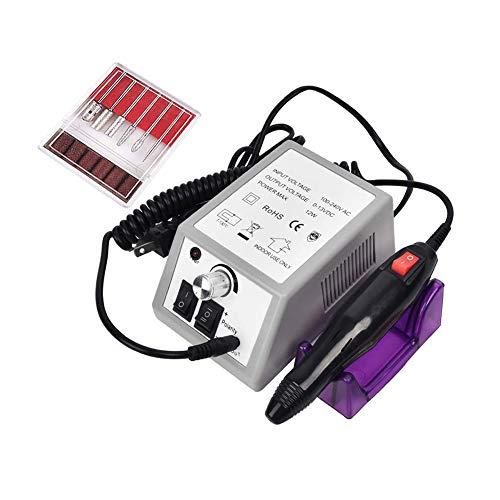 NanaDay Electric Nail Drill 20000 Professional Nail Drills Set for Acrylic Nails Electric Nail File for Home Salon Use with 6pcs Nail Drill Bits