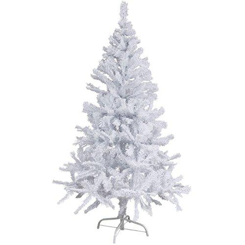 Künstlicher Weihnachtsbaum weiß 180 cm