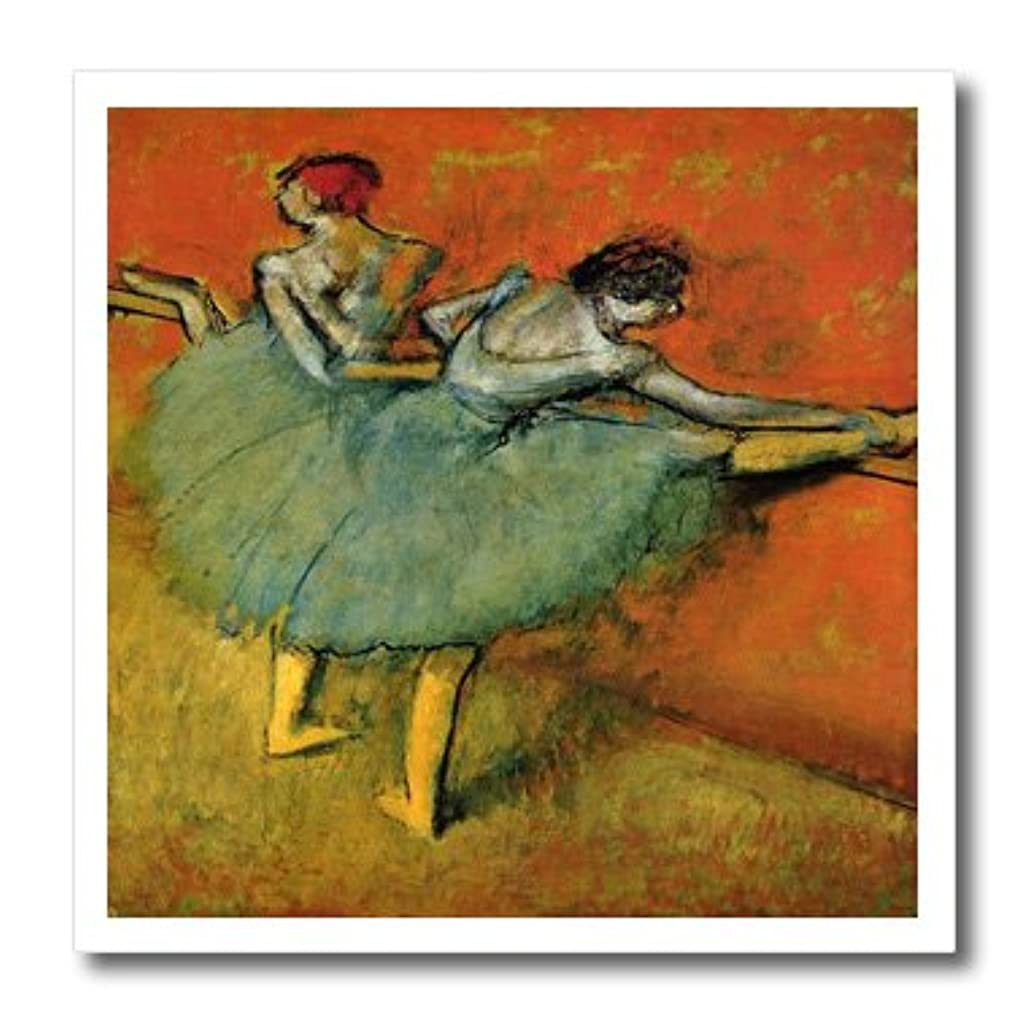 3dRose ht_61774_1 1888 Painting Dancer at The Bar by Degas Iron on Heat Transfer Paper, 8 by 8-Inch