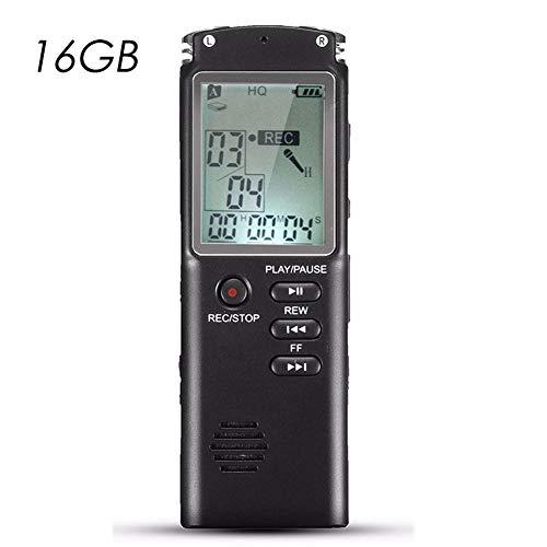 8 GB 16 GB 32 GB Voice Recorder Professionelles USB-Diktiergerät für digitales Audio mit integriertem VAR / VOR-Mikrofon