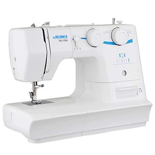 Elektrische naaimachine, draagbare knutselmachine met voetpedaal en LED-lampje, 8 ingebouwde steken, vrije arm beste naaimachine voor beginners
