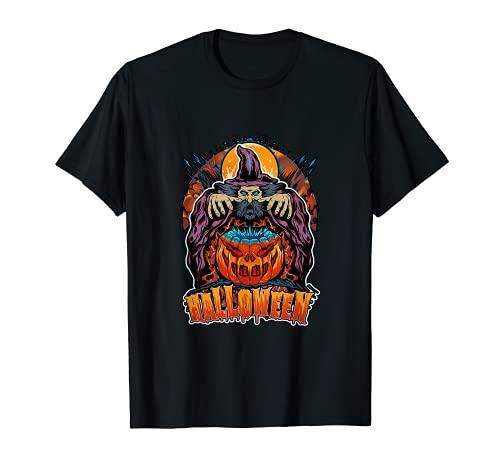 SCARY - Disfraz de calabacn mgico y fresco de halowien Camiseta
