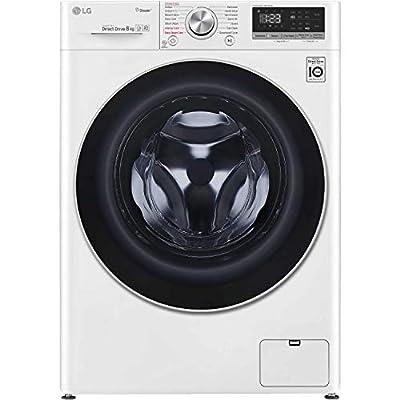 LG F4V508WS 8kg 1400rpm Freestanding Washing Machine - White