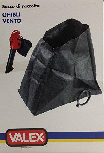 VALEX GHIBLI VENTO AUFFANGSACK für LAUBSAUGER Valex MERAK 2200, VENTO 2400, SHAMAL 1600, SHAMAL 1800, GHIBLI 2000, BORA 2200, GHIBLI 2000-60L gelb und SHAMAL 1800-50L rot und für Grizzly Laubsauger LS 2000-60 Gelb und LS 2005-40L