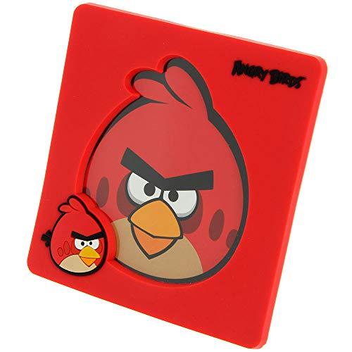 BB Angry Birds - Marco de fotos (rojo)