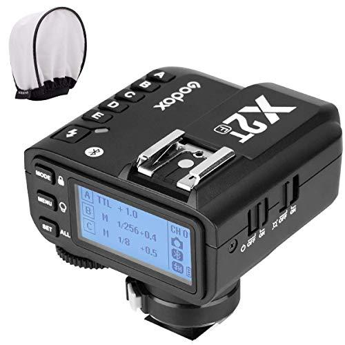 【Godox正規代理&技適マーク】Godox X2T-F TTL ワイヤレスフラッシュトリガー 1/8000 HSS ブルートゥース接続可能 新ホットシューロック 新AFアシストライト Fujiカメラ対応