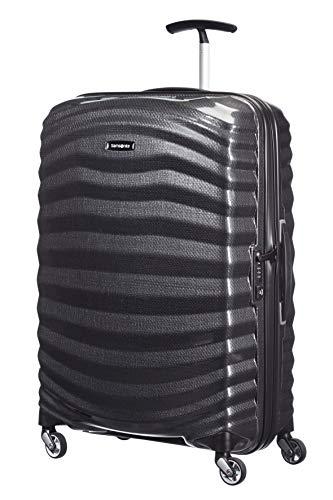 Samsonite Lite-Shock - Spinner M Maleta, 69 cm, 73 L, Negro (Black)