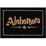 MoonWorks Felpudo con texto 'Alohomora', antideslizante, lavable,...
