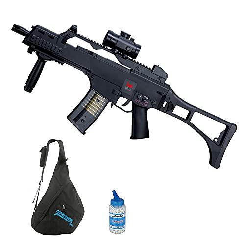 Arma de Airsoft HK G36C eléctrica (6mm) | Arma Larga semiautomática de Bolas PVC